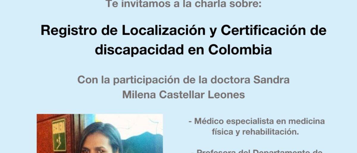 Enlace permanente a:Registro de Localización y Certificación de Discapacidad en Colombia.